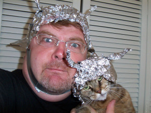 wally glenn: canaille: tin foil hat