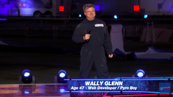 wally glenn: pyro boy: agt 2015